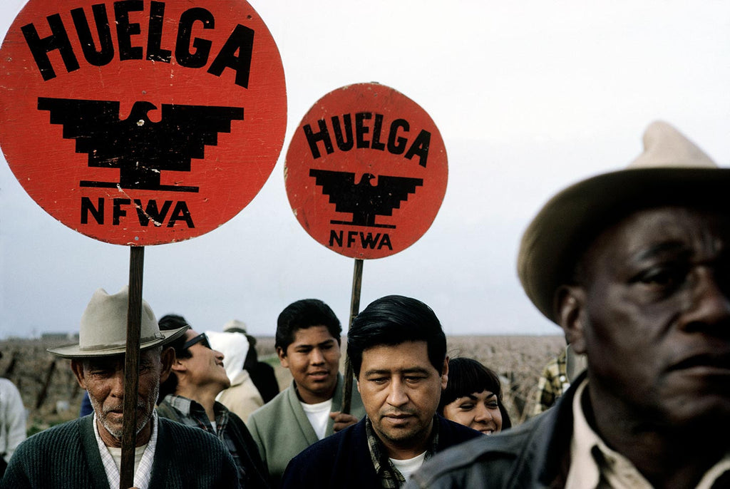 Ceasar Chavez, leader of the National Farm Workers Association. California, 1966.