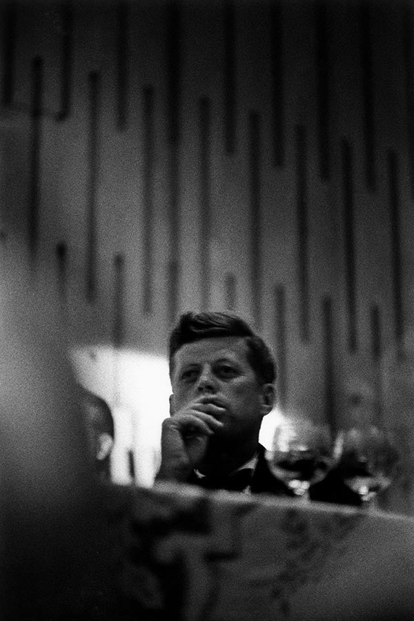 John F. Kennedy at the Democratic Convention. Los Angeles, 1960.