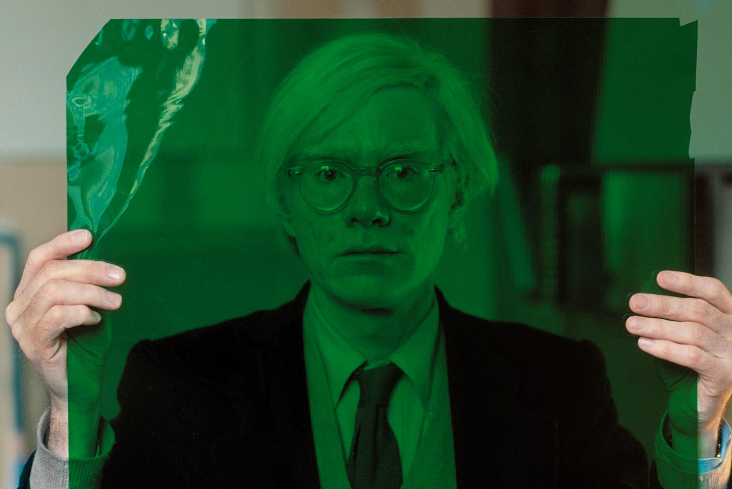 Andy Warhol in his