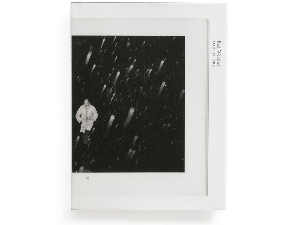 Bad Weather Book Signed by Martin Parr