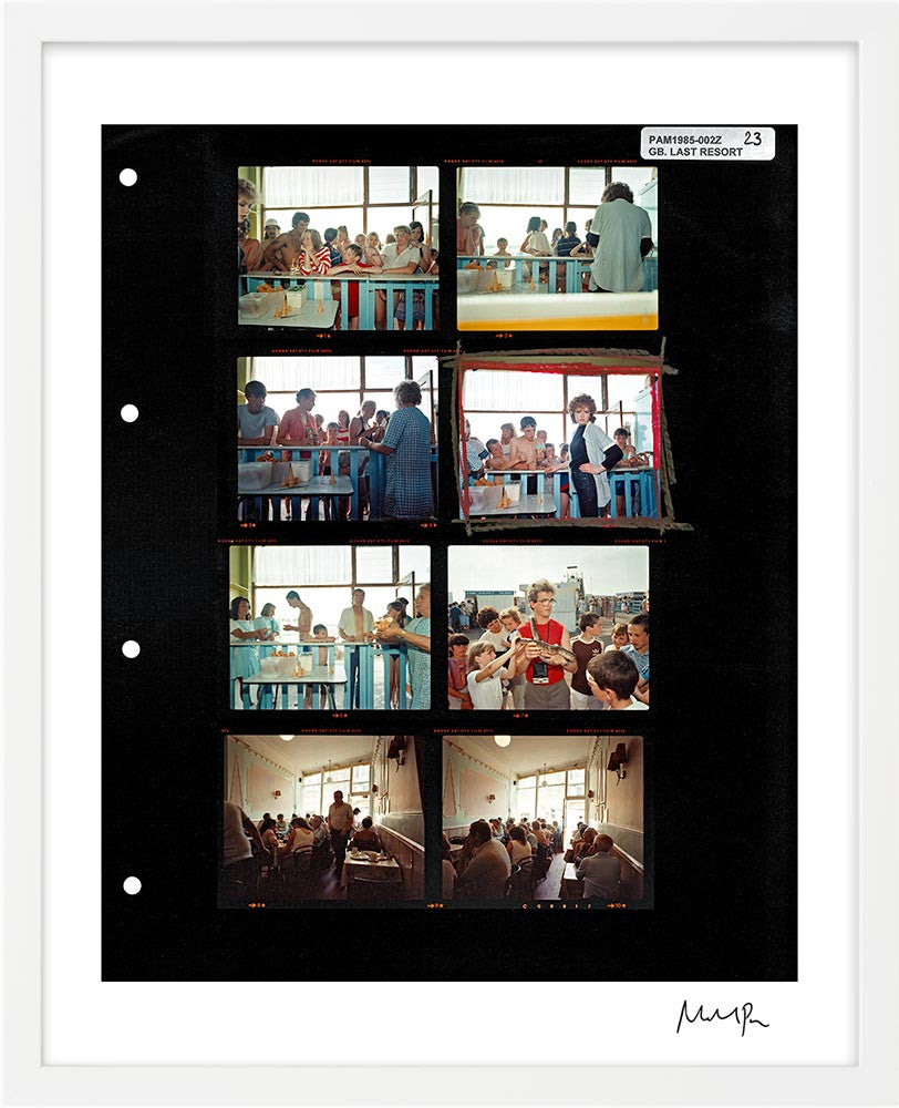 Signed Contact Sheet Print: The Last Resort by Martin Parr – Magnum ...