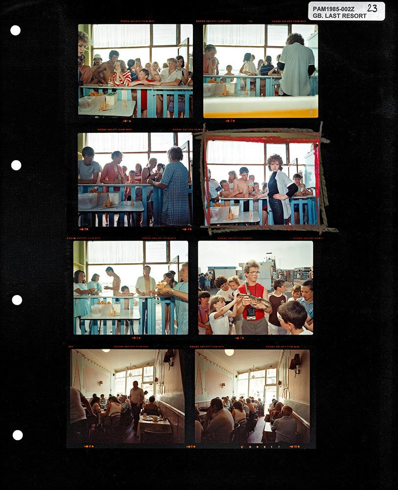 Signed Contact Sheet Print: The Last Resort