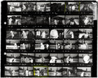 "Contact Sheet Print: ""Bad Weather,"" Dublin, Ireland, 1981"