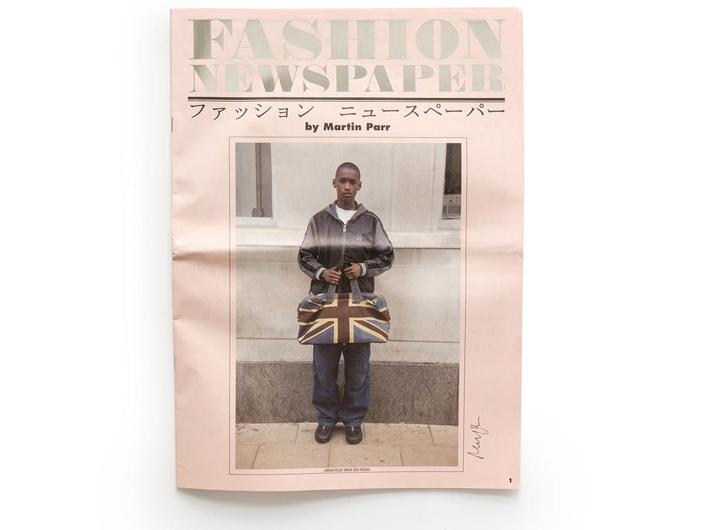 Fashion Newspaper Signed by Martin Parr