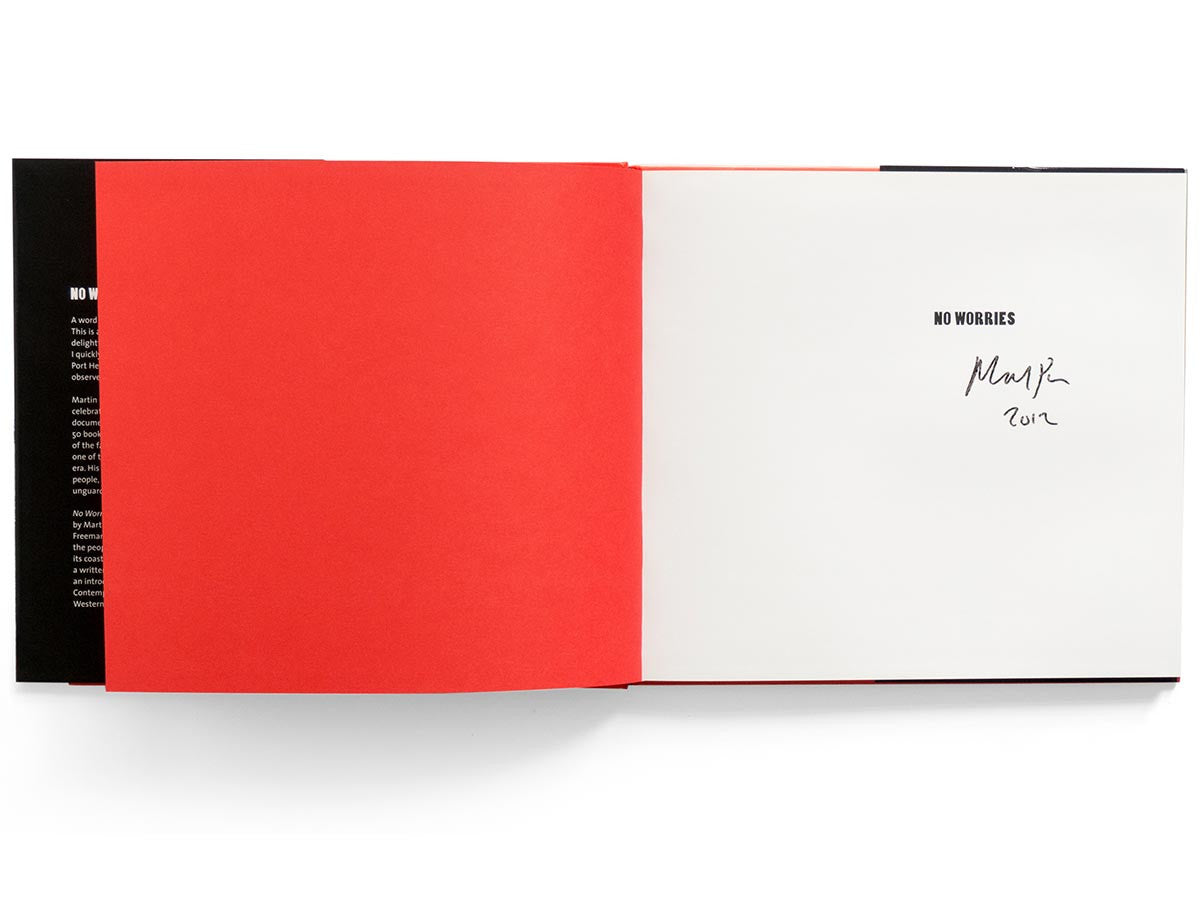 No Worries Book Signed by Martin Parr