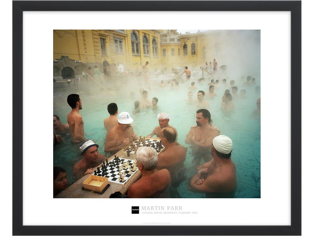 Magnum Collection Poster: Thermal baths, Budapest, Hungary. 1997.