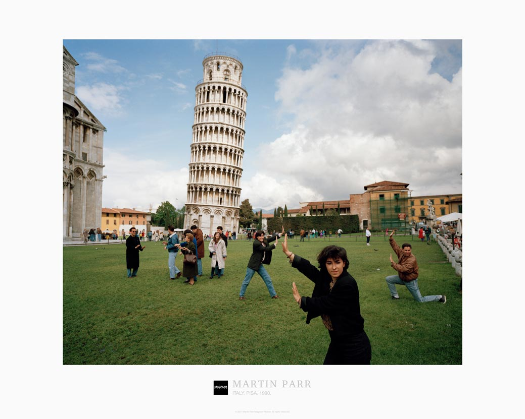 Magnum Collection Poster: Italy. Pisa. 1990.