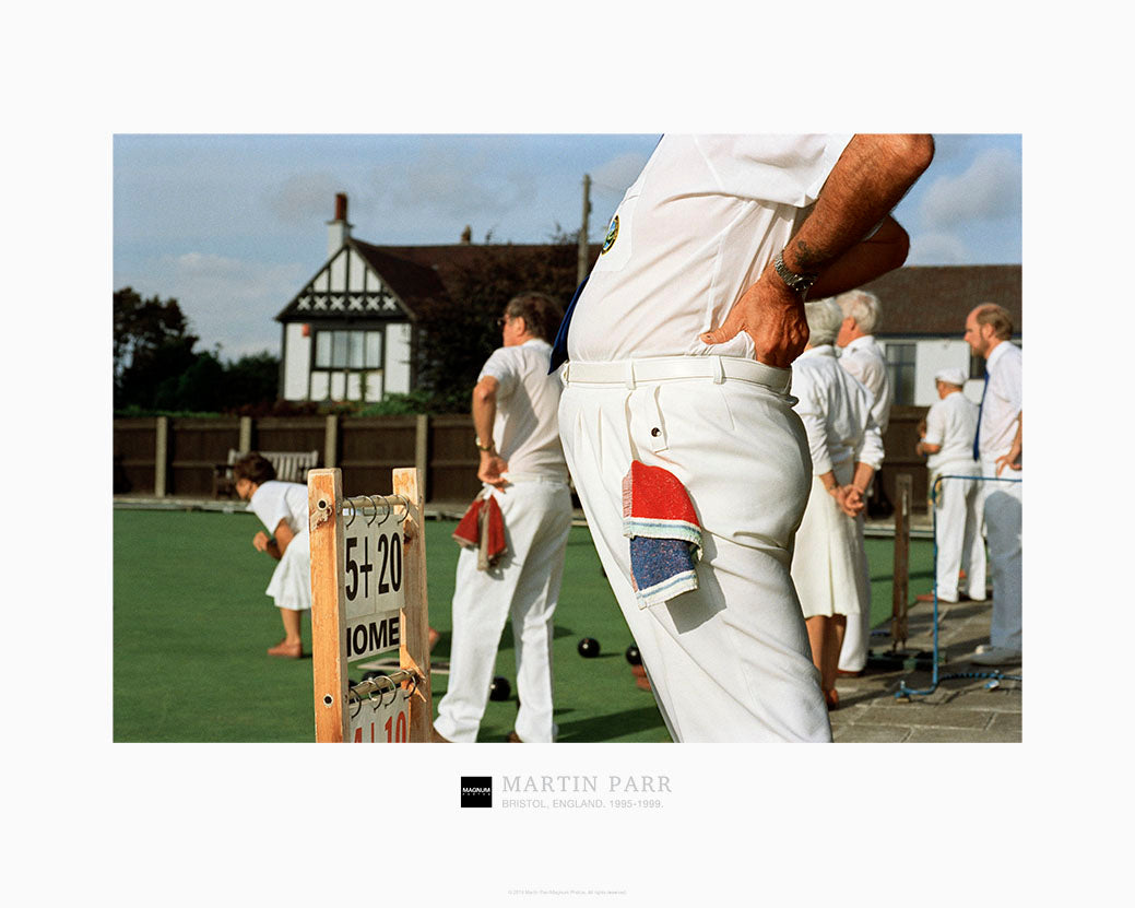 Magnum Collection Poster: England, Bristol. 1995-1999.