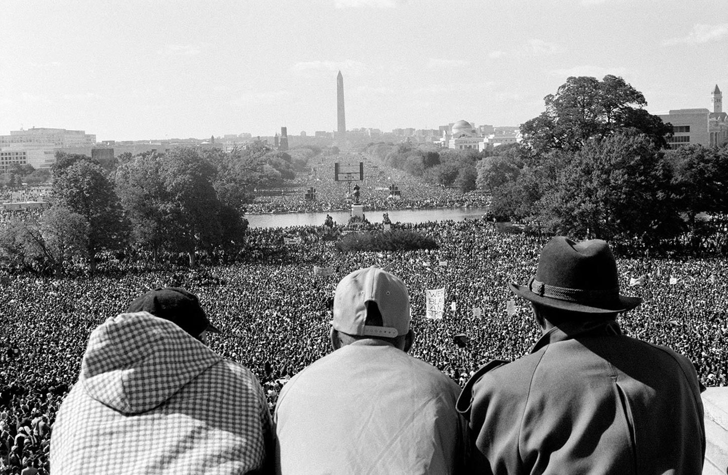 The Million Man March. Washington D.C., 1995.