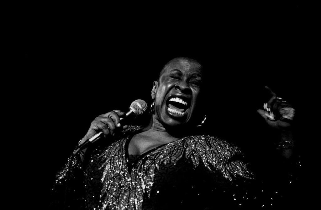 Betty Carter. Drancy, France. 1990.