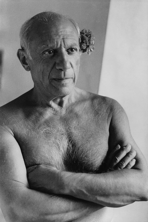 Spanish painter Pablo Picasso. France. 1951.