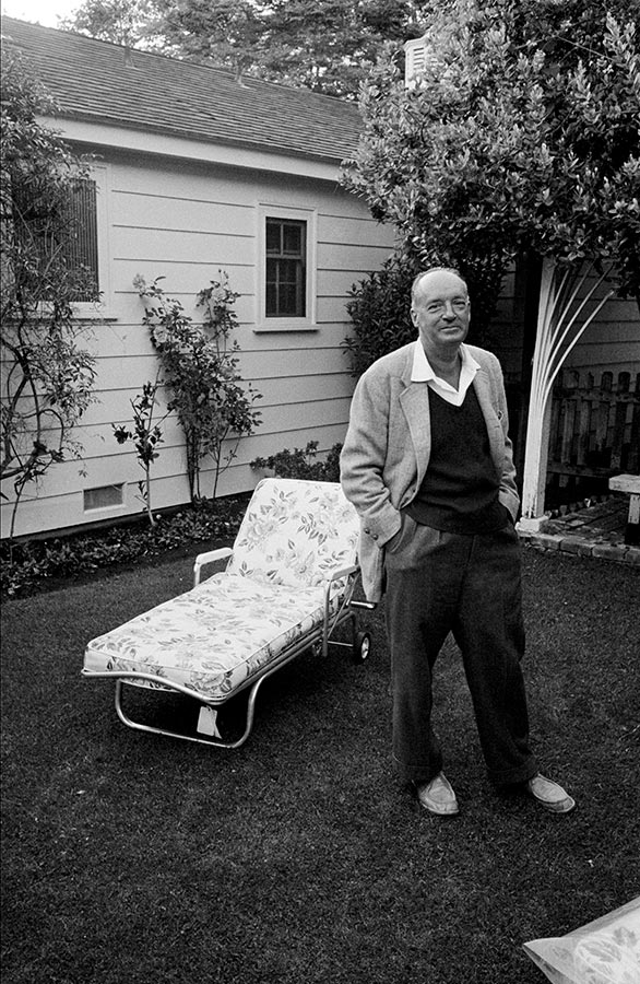 Vladimir Nabokov in Hollywood. Los Angeles, California, USA. 1960.