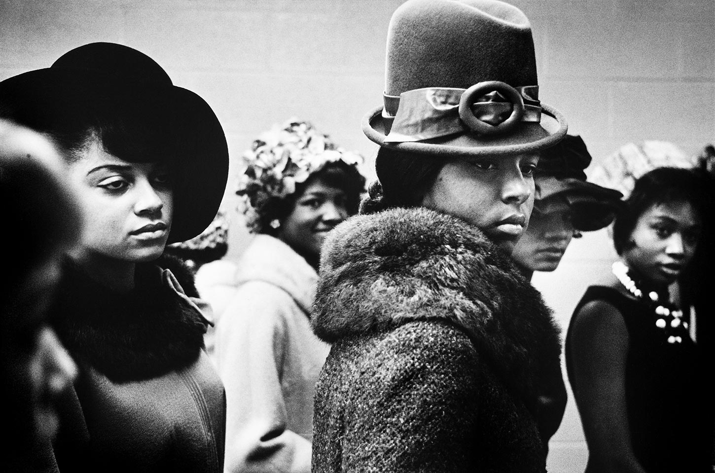 Harlem Fashion Show. Harlem, New York. 1963.