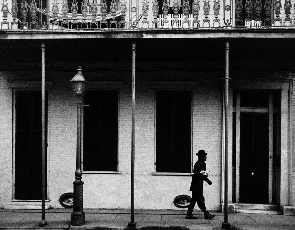 Ernest 'Kid Punch' Miller. New Orleans, Louisiana. 1958.