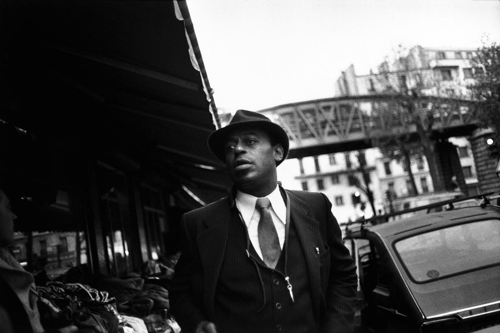 Archie Shepp. Paris, France. November 9, 1983.