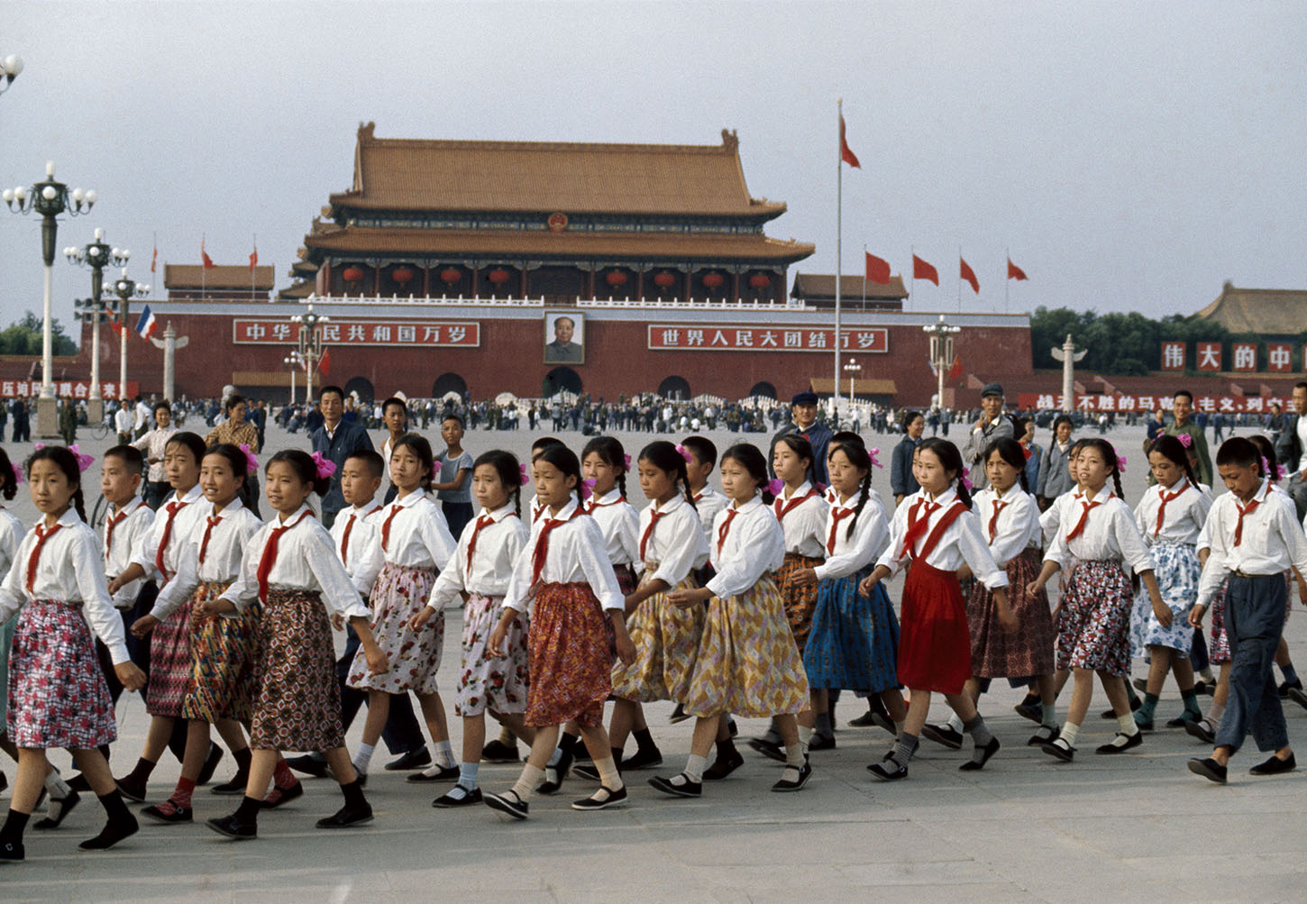Tiananmen Square. Beijing, China. 1973.