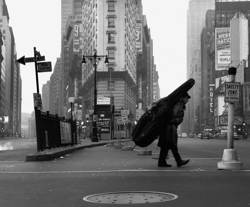 Bill Crow in New York, 1958.