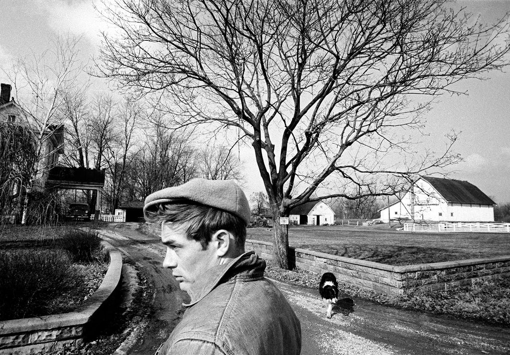 James Dean. Fairmount, Indiana, USA. 1955.