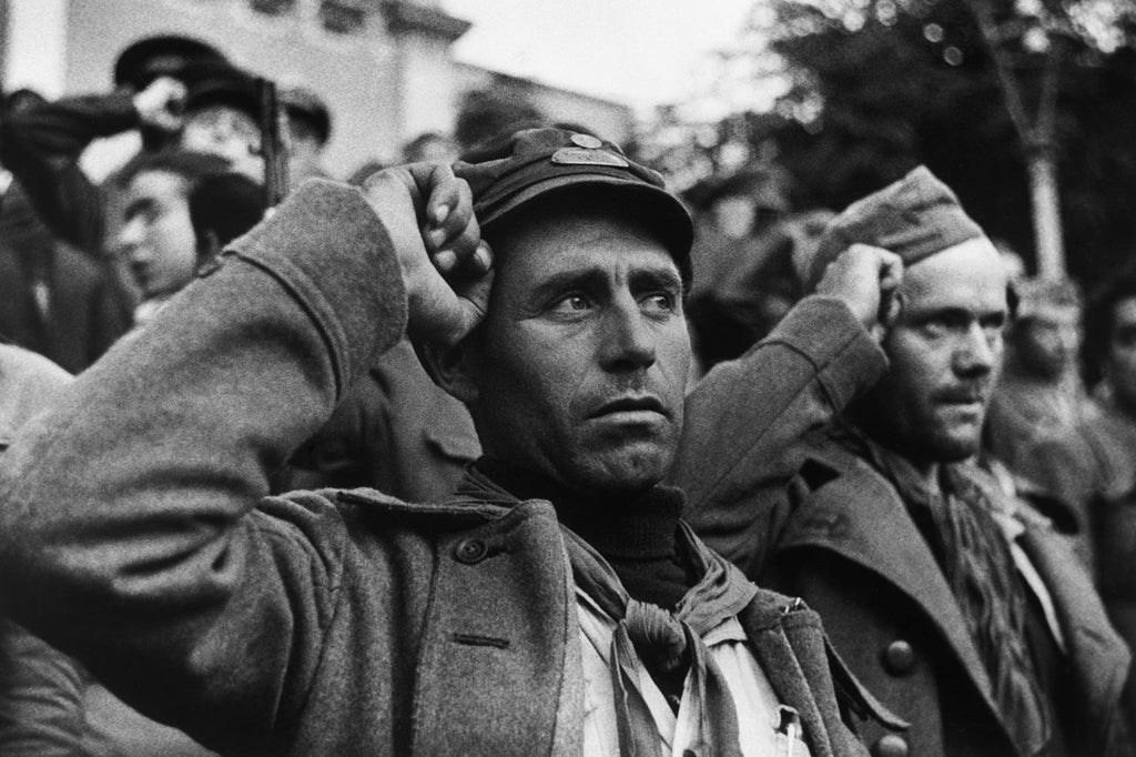 Spanish Civil War, the International Brigades farewell ceremony, 1938.