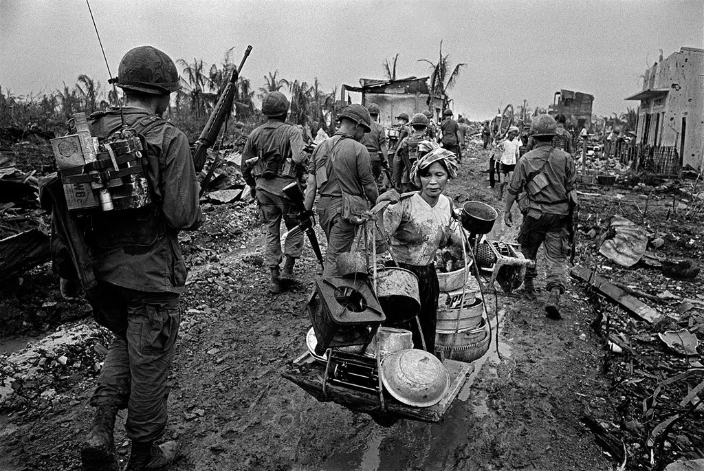 The Battle of Saïgon. Vietnam War. South Vietnam. 1968.