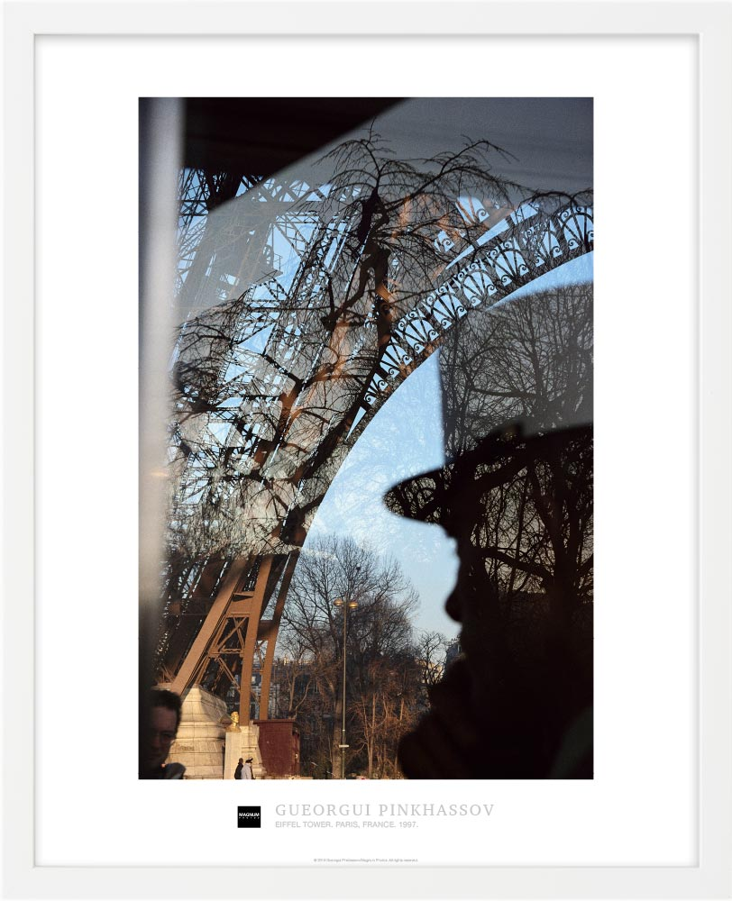 Magnum Collection Poster: Eiffel Tower. Paris, France. 1997.