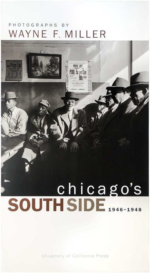 Poster: Wayne Miller Chicago's South Side 1946-1948