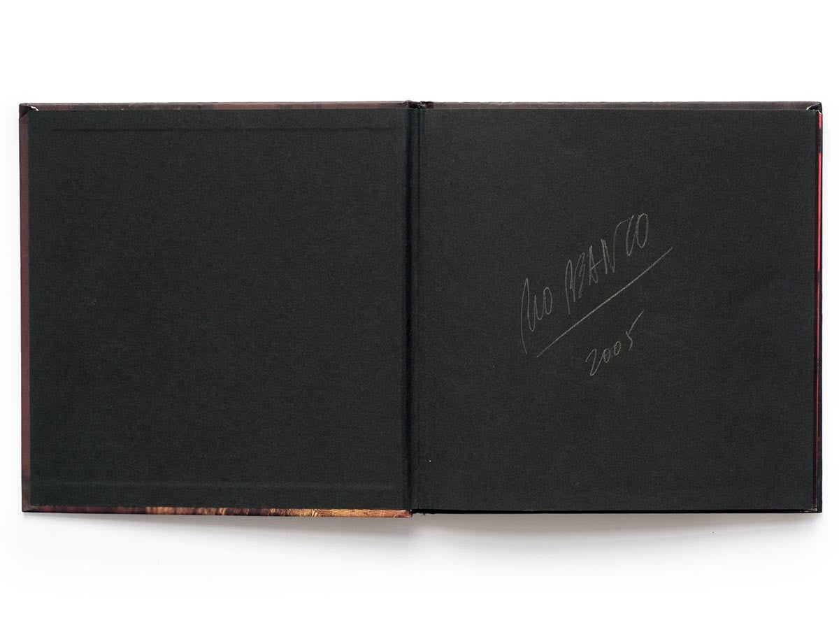 Silent Book Book Signed by Miguel Rio Branco