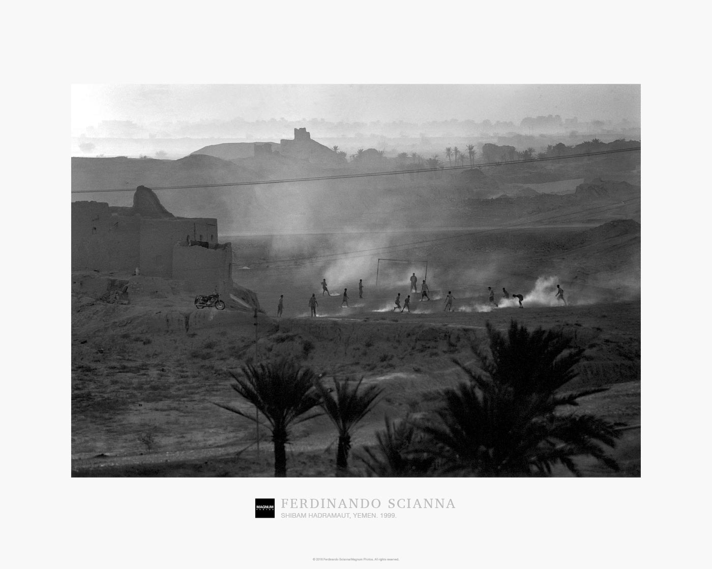Magnum Collection Poster: Shibam Hadramaut, Yemen. 1999.