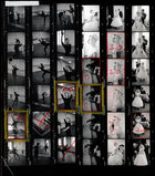 Contact Sheet Print: Audrey Hepburn in Funny Face