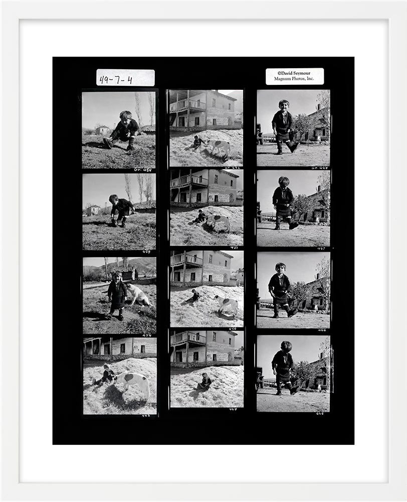 Contact Sheet Print: Oxia, Greece
