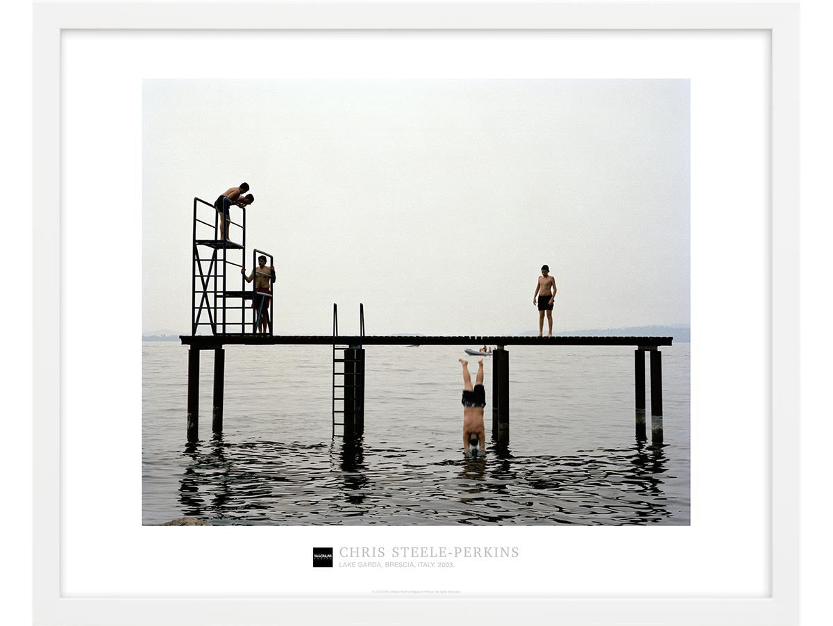 Magnum Collection Poster: Lake Garda, Brescia, Italy. 2003.