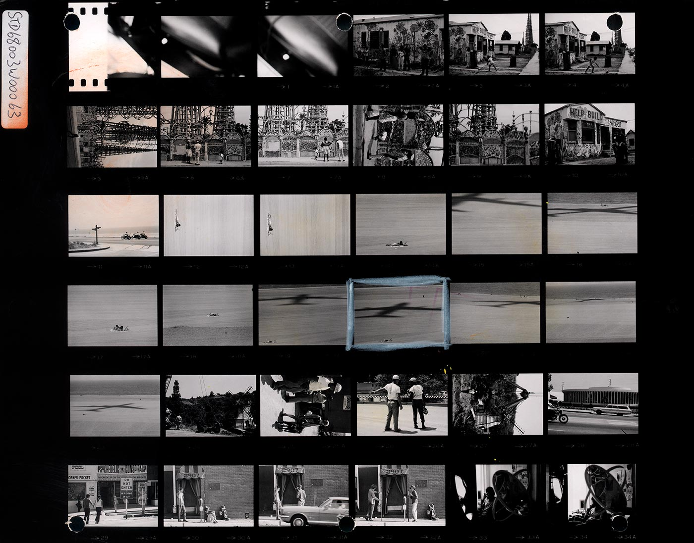 Contact Sheet Print: The California Trip