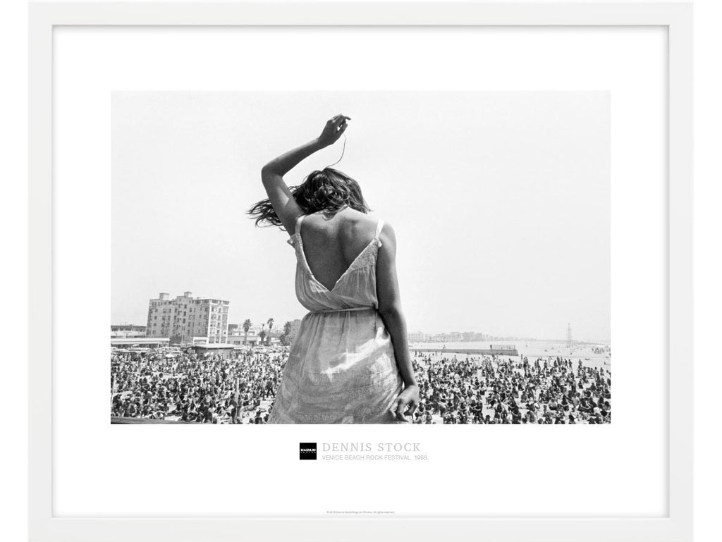 Magnum Collection Poster: Venice Beach Rock Festival. 1968. – Magnum ...