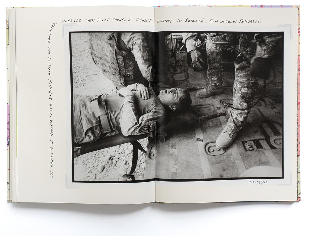 Afghanistan Book Signed by Larry Towell