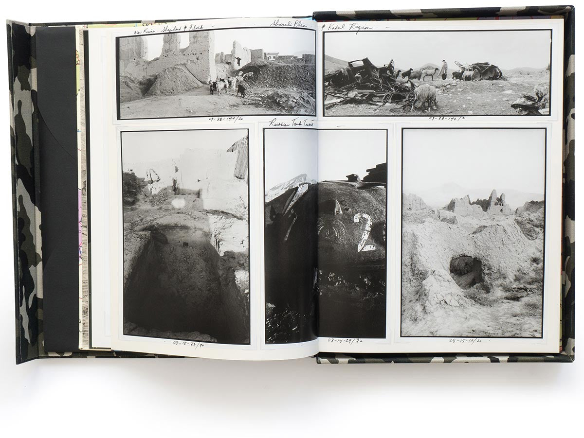 Afghanistan Collectors Edition Book by Larry Towell