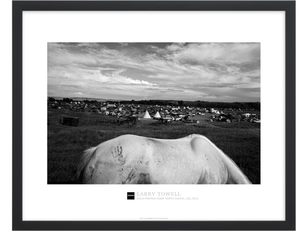 Magnum Collection Poster: Sioux Protest Camp. North Dakota, USA. 2016.