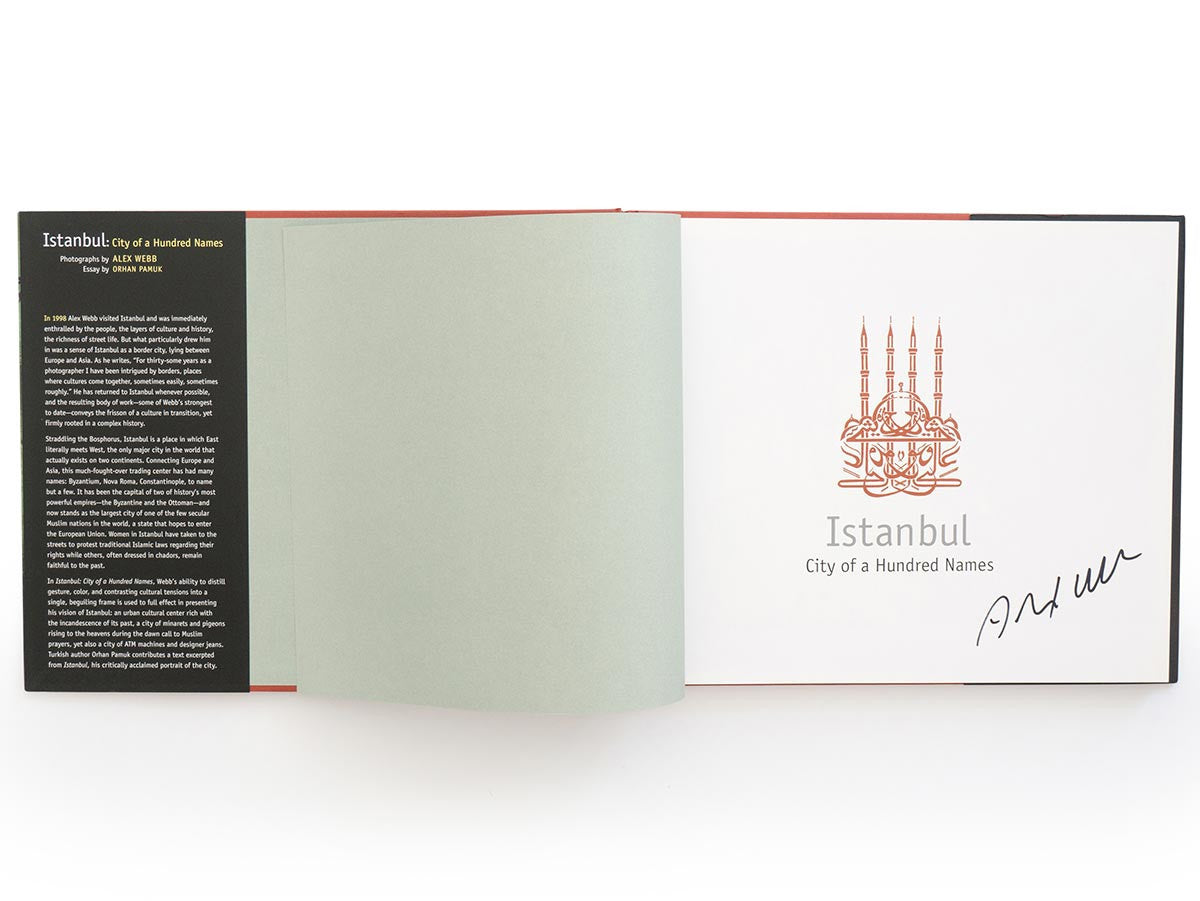 Istanbul: City Of A Hundred Names Book Signed by Alex Webb