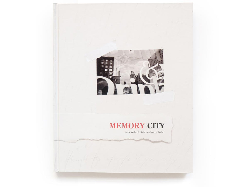 Memory City Book Signed by Alex Webb