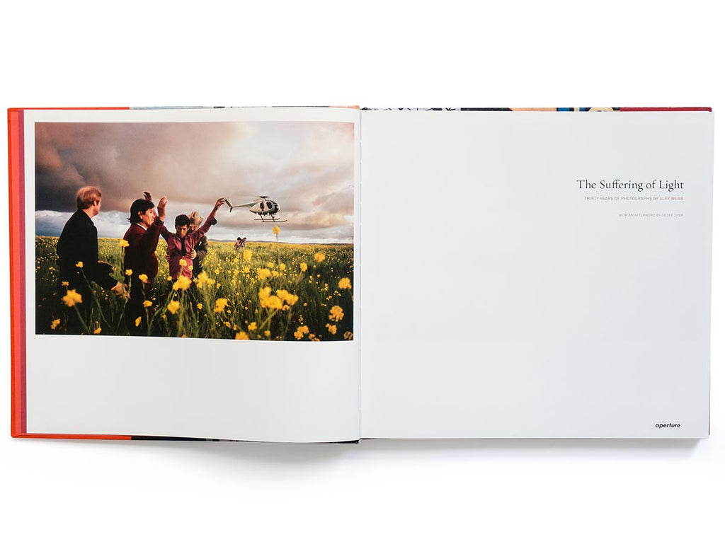 The Suffering of Light Book Signed by Alex Webb