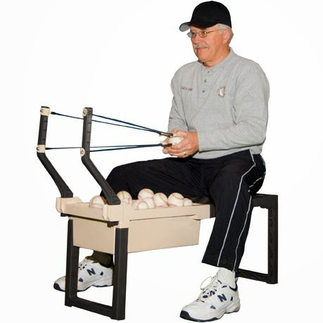 Bring The Batting Cage Home With Sling Pitcher