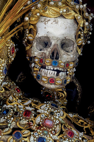 Catacomb saints the catacomb martyrs jewelled skeletons