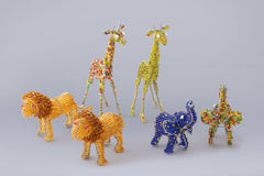 Beaded African Animals