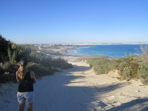View of Arniston beach