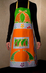 hand painted aprons
