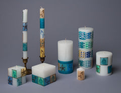 Arniston Hand Painted Candles