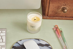 Soylites aroma candle on your desk can help you relax