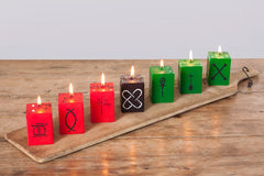 Kwanzaa Cube Candle Collection