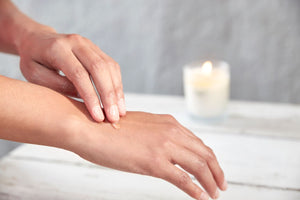 Soy lites candle wax can be applied to your hands or feet as a moisturizer.