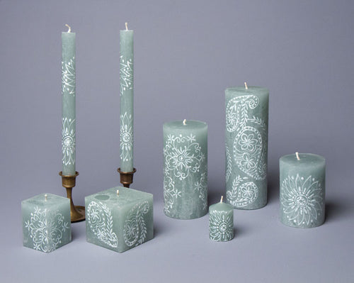 Henna Duck Egg hand crafted candles made in South Africa.  Fair trade home decor.