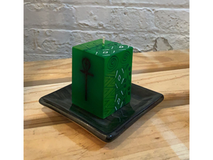 Kwanzaa Painted Candle Cube Collection